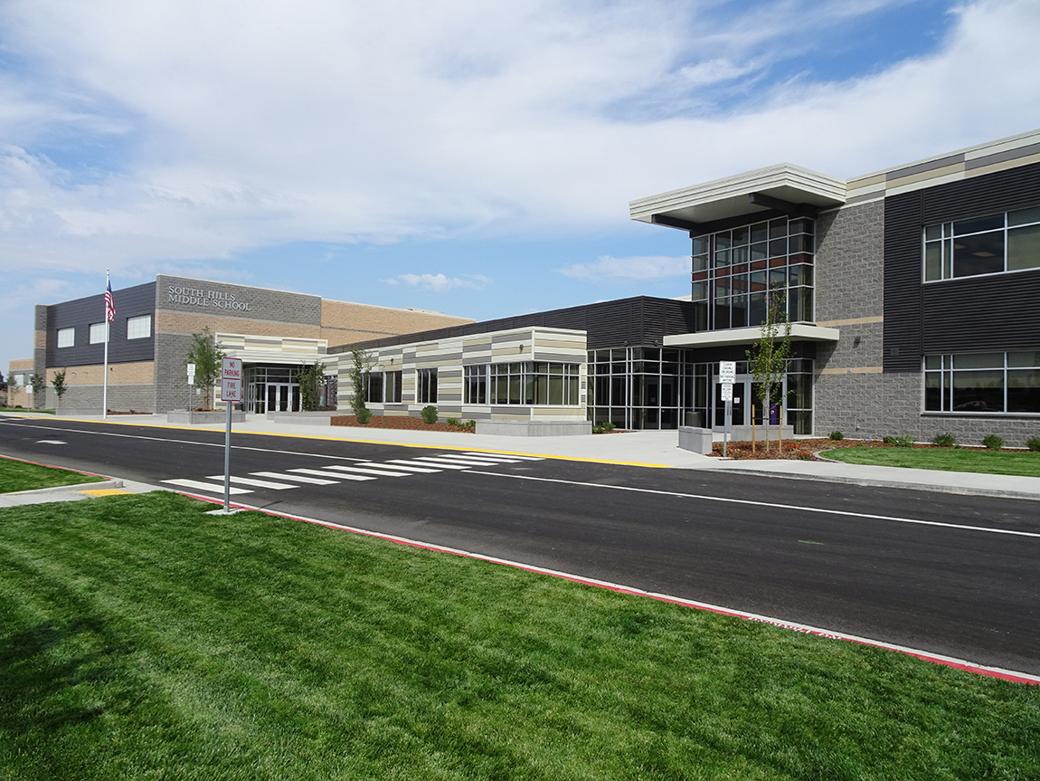 Paradigm Of Idaho, Inc. Project Managed South Hills Middle School in Twin Falls, Idaho